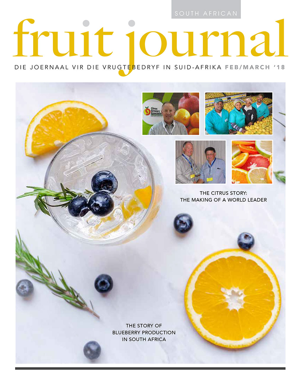 SA Fruit Journal - Feb - March 2018 - Cover
