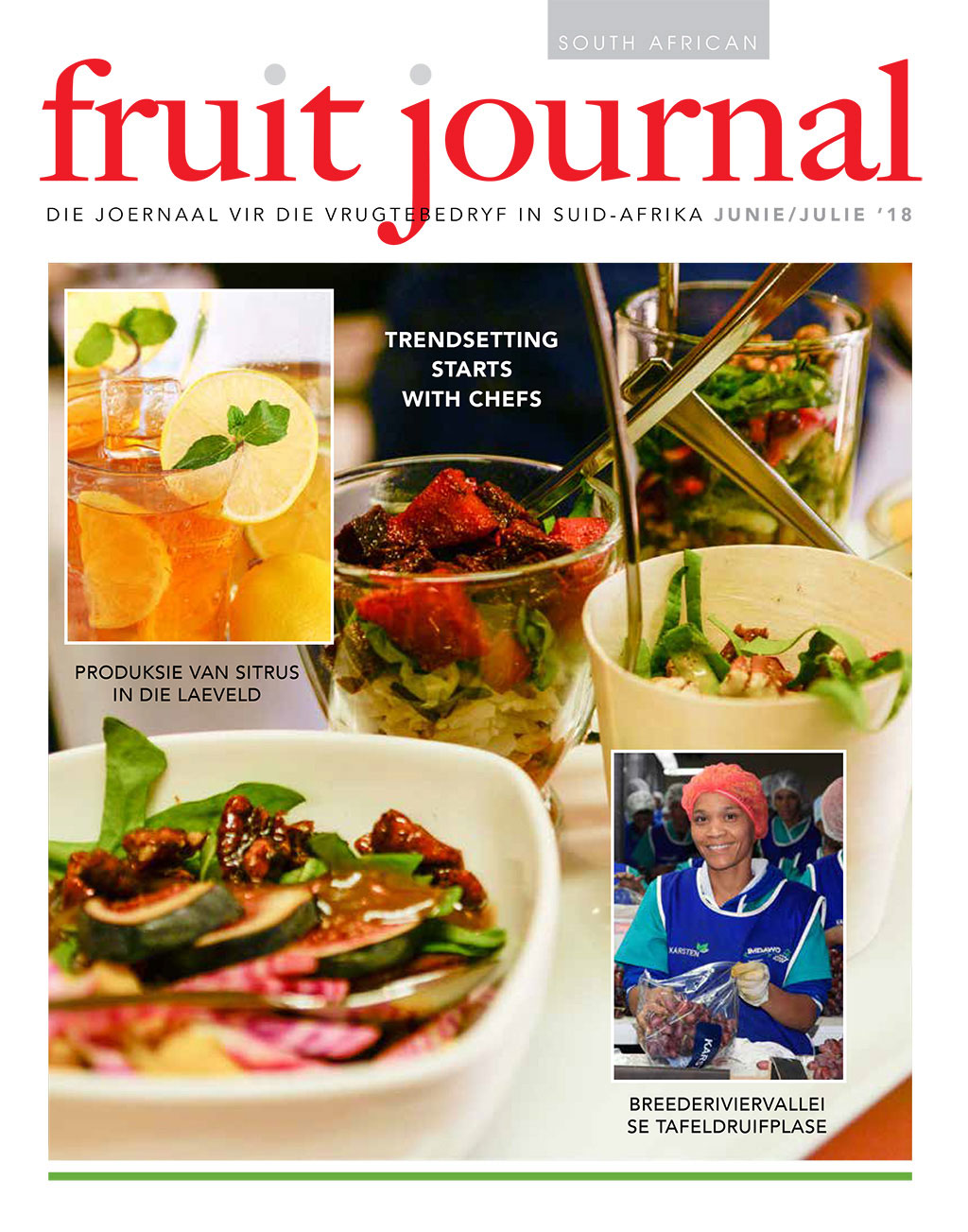 SA Fruit Journal June July 2018 Cover