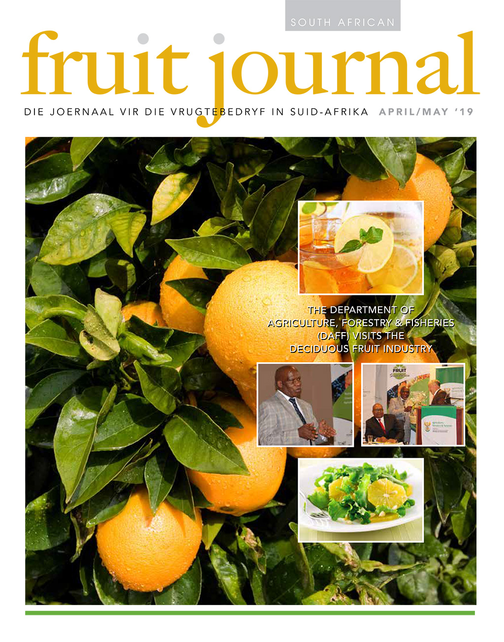 SA Fruit Journal - April May 2019 - Cover