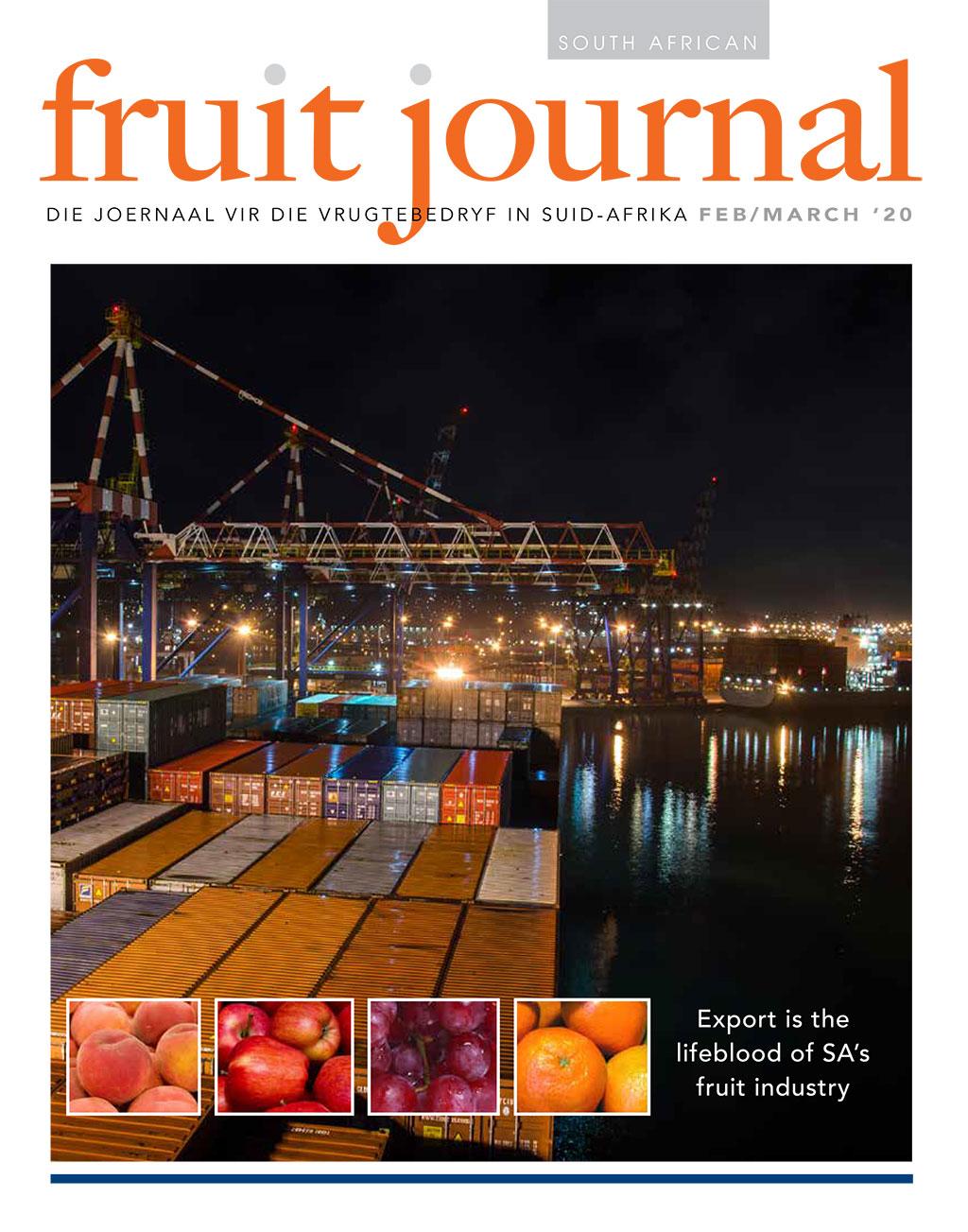 Safj Sa Fruit Journal Feb March 2020 Cover