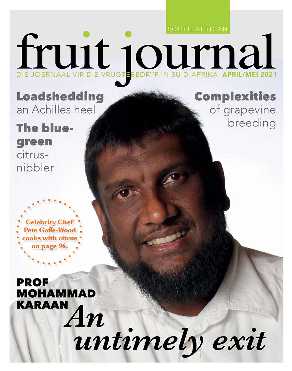 Sa Fruit Journal Safj Apr May 2021 Cover