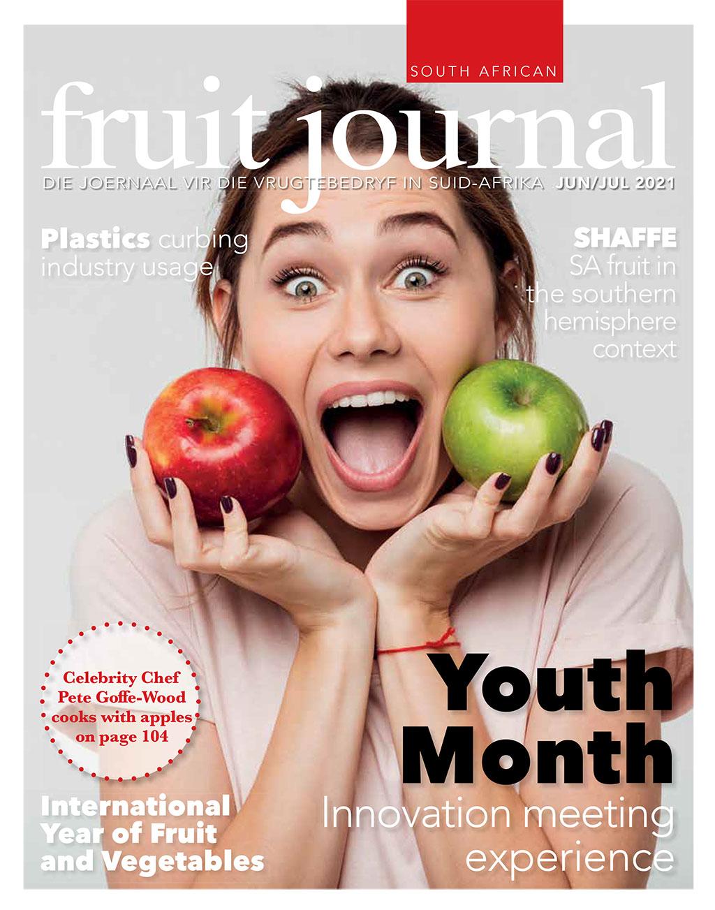 Sa Fruit Journal Safj June July 2021 Cover
